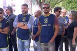Policiais Civis protestam em frente à SSP
