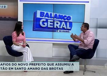 Desafios do novo prefeito que assumiu a gestão em Santo Amaro das Brotas