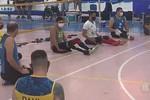 Seleção brasileira de vôlei sentado realiza treinamento em Aracaju