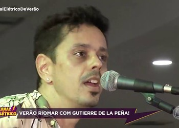 Gutierre de La Peña anima o Verão Riomar (Bloco 01)