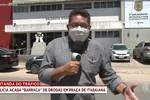 Polícia prende suspeitos de traficar drogas em praça pública de Itabaiana