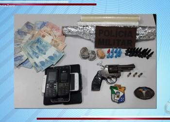 Suspeitos de tráfico de drogas são presos em Nossa Senhora da Glória