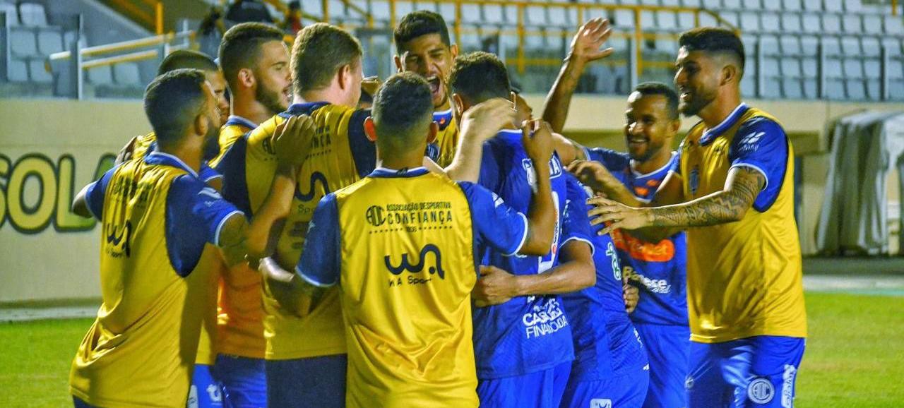 Confiança vence Cuiabá por 2 a 0 pela Série B do Brasileirão