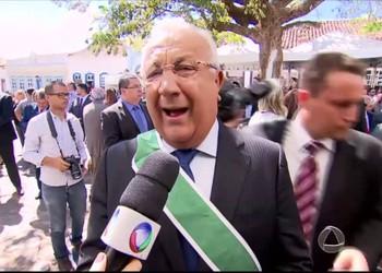 Governador Jackson Barreto é homenageado pelo governo de Goiás
