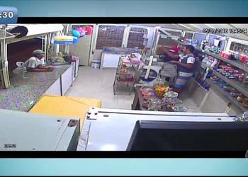 Lanchonete é assaltada pela segunda vez no Conjunto Sol Nascente